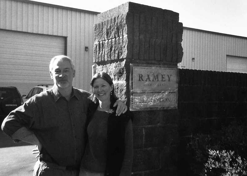 David and Carla opening the first winery in 2003