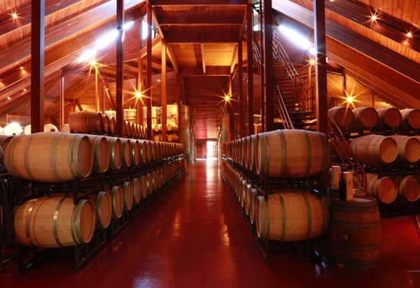 Winery interior